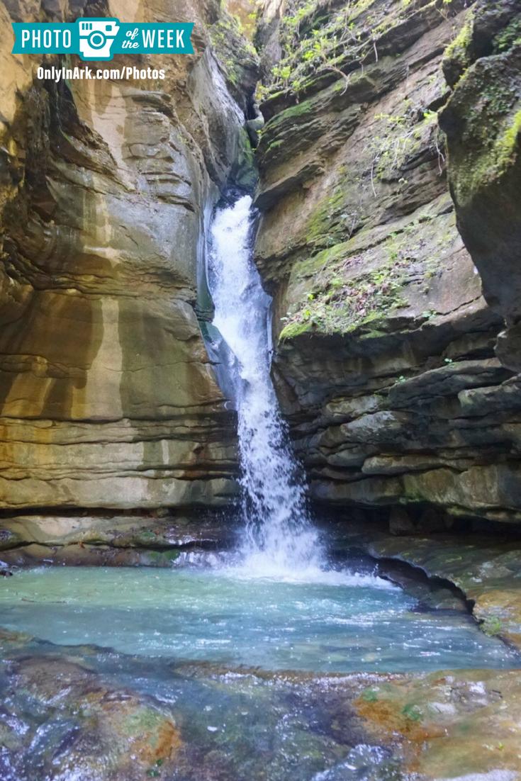 Photo Of The Week Thunder Canyon Falls By Fallon Sibley Onlyinark