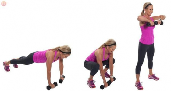 10 Dumbbell Exercises That Burn Fat