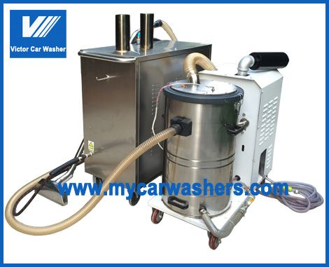 A New Designed Carpet Cleaning Machine Make Our Lpg With Double Stove Become High Pressure Hot Water