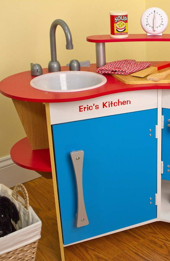 Toddler Melissa & Doug \'Cook\'s Corner\' Personalized Kitchen ...
