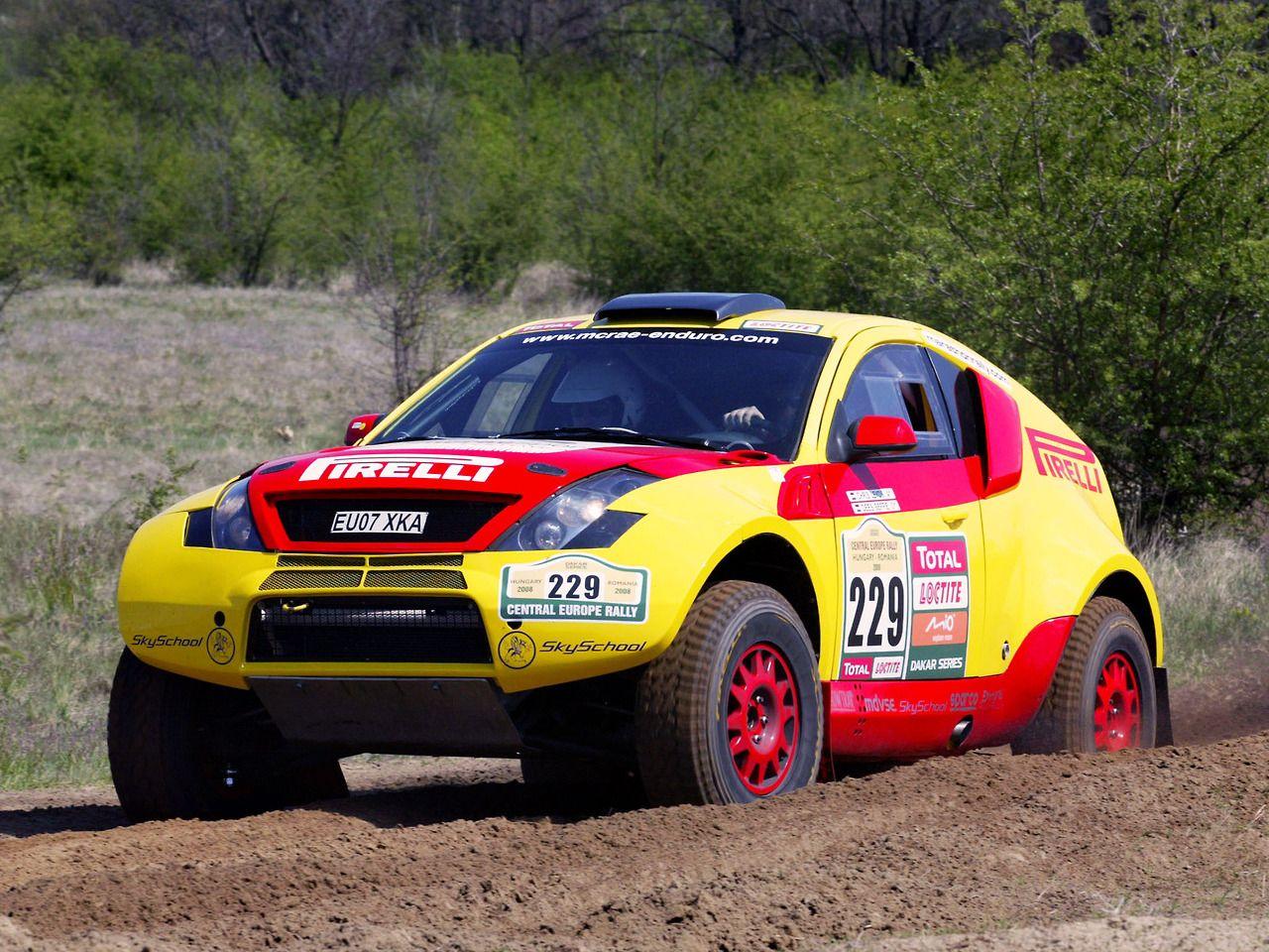 McRae Enduro rally raid car   Cars   Pinterest   Rally, Cars and ...