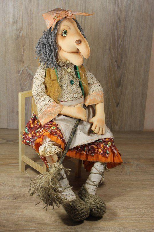 Светлана Рябоконь:   Хэллоуин куклы, Самодельные куклы ...