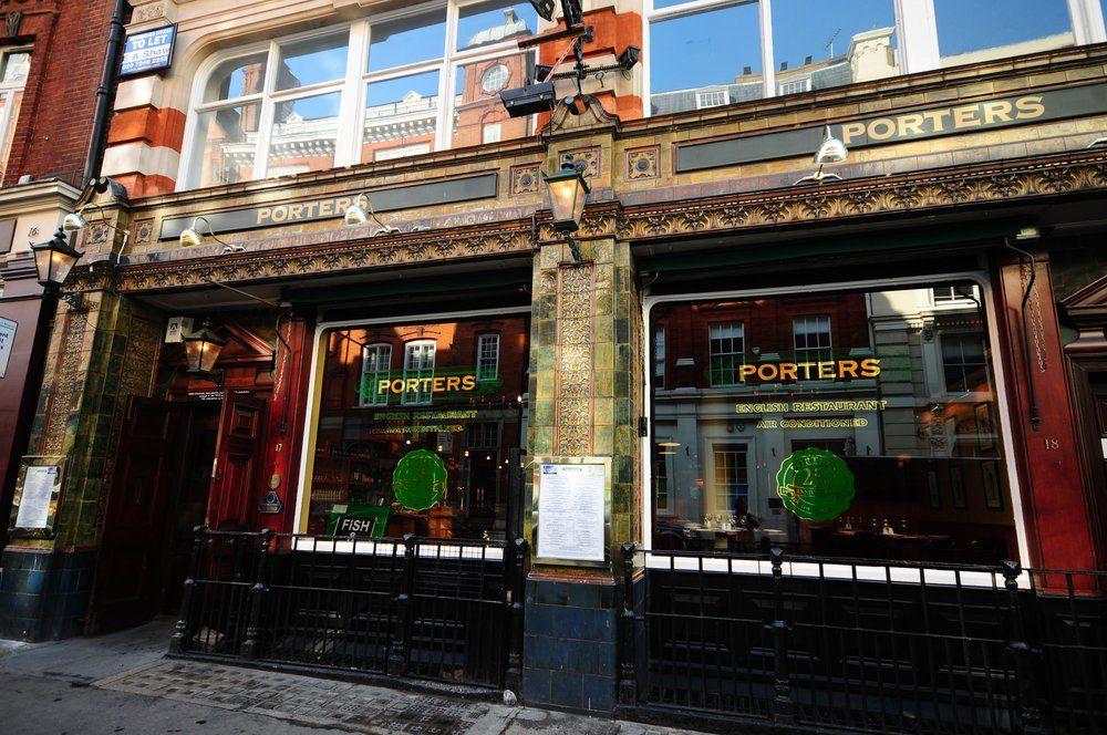 Porters English Restaurant, London, UK PORTERS ENGLISH ...