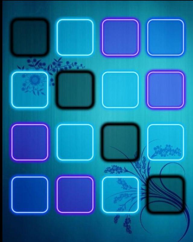 Cute Electric Blue Home Screen Cute Home Screens Iphone Wallpaper Wallpaper
