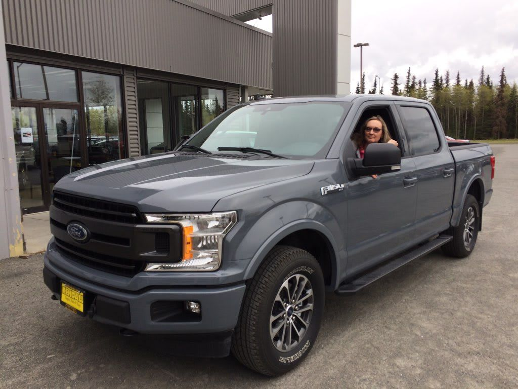 Maria We Wanted To Congratulate You On The Purchase Of Your New 2019 Ford F 150 Thank You For Choosing Dave Bartelmay At Kendall Fo Kenai 2019 Ford Ford F150