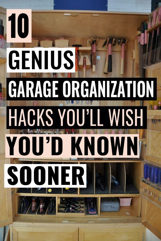 10 genius garage organization hacks that are just amazing on best garage organization and storage hacks ideas start for organizing your garage id=24160