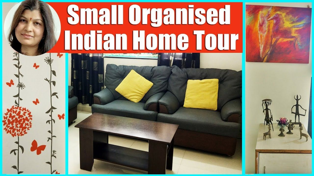 My Indian Home Tour Small Home Organization Decor Ideas Middle Class 2bhk House Tour Flat Interio Indian Home Interior Small House Organization Flat Interior
