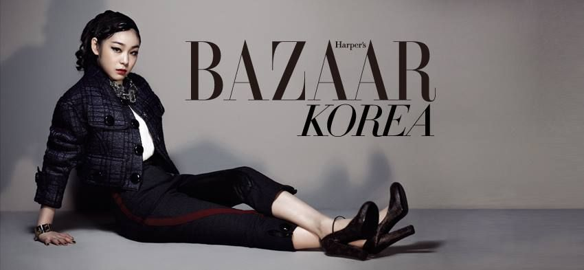 #Yuna Kim #김연아 - Bazaar Koera