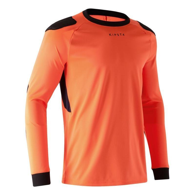 63fdec2109837 Deportes Colectivos Ropa - Camiseta portero F100 naranja KIPSTA - Ropa