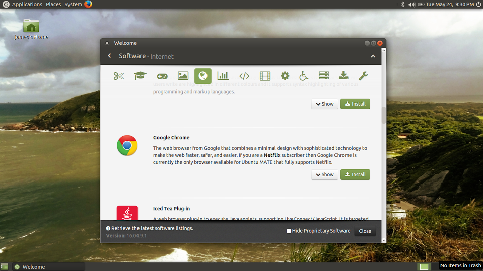 Not just in Ubuntu Mate, but Linux in general, Chrome is a great