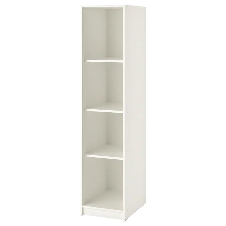 Kleppstad Armoire Ouverte Blanc Ikea In 2020 Open Wardrobe Ikea Wardrobe Ikea