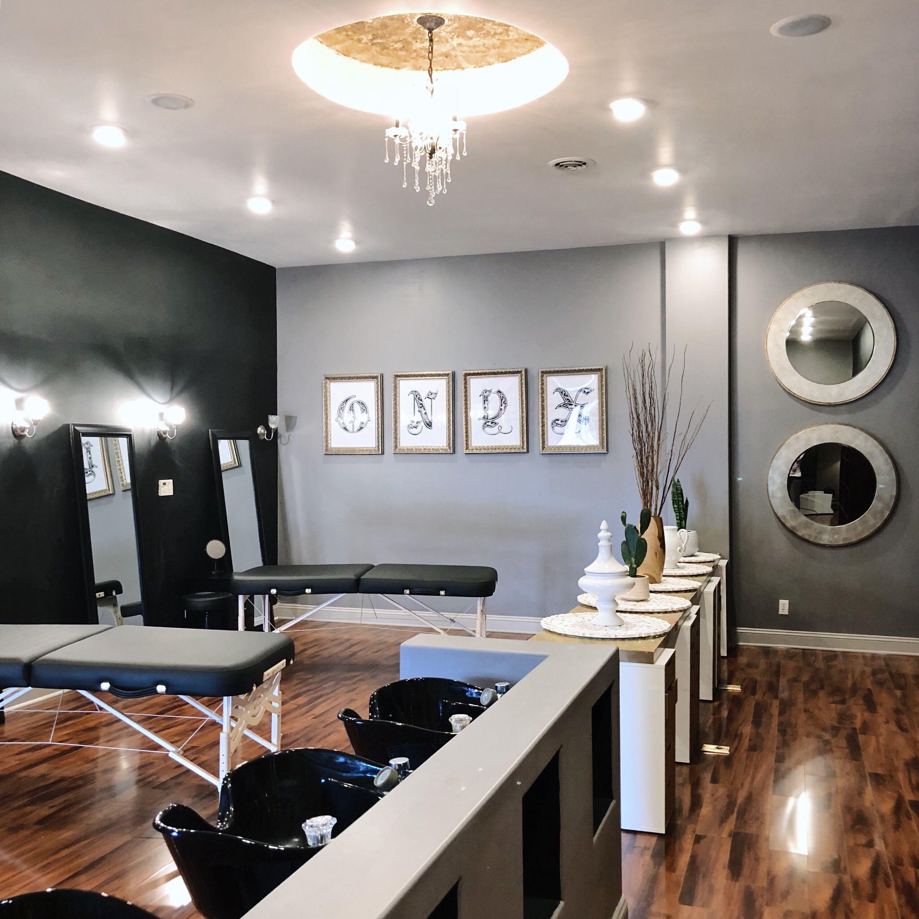 Microblading | Interior Design | Lash And Brow Studio | Tattoo Studio |  Midland Michigan | Salon Design