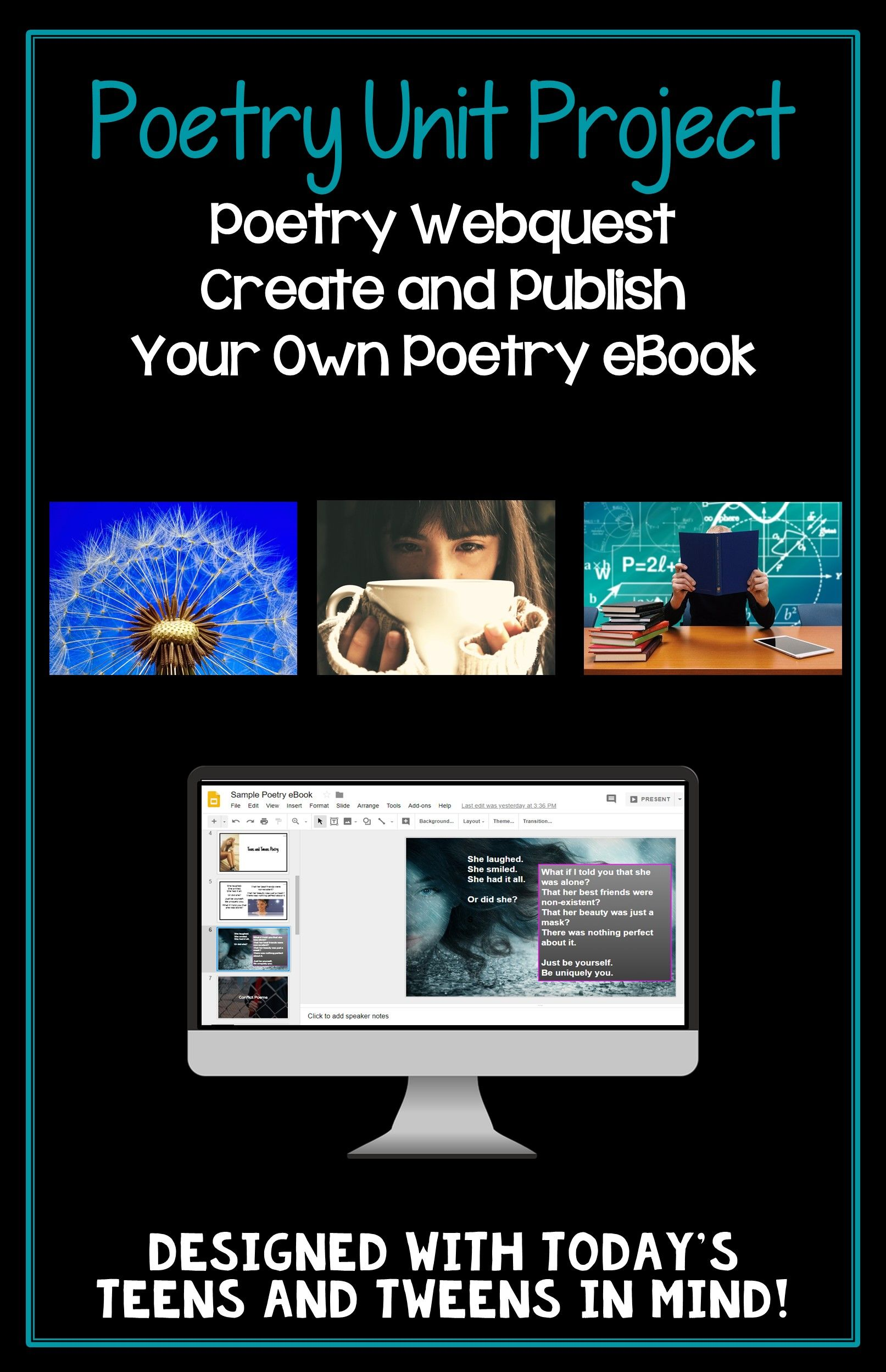 Poetry unit for teens