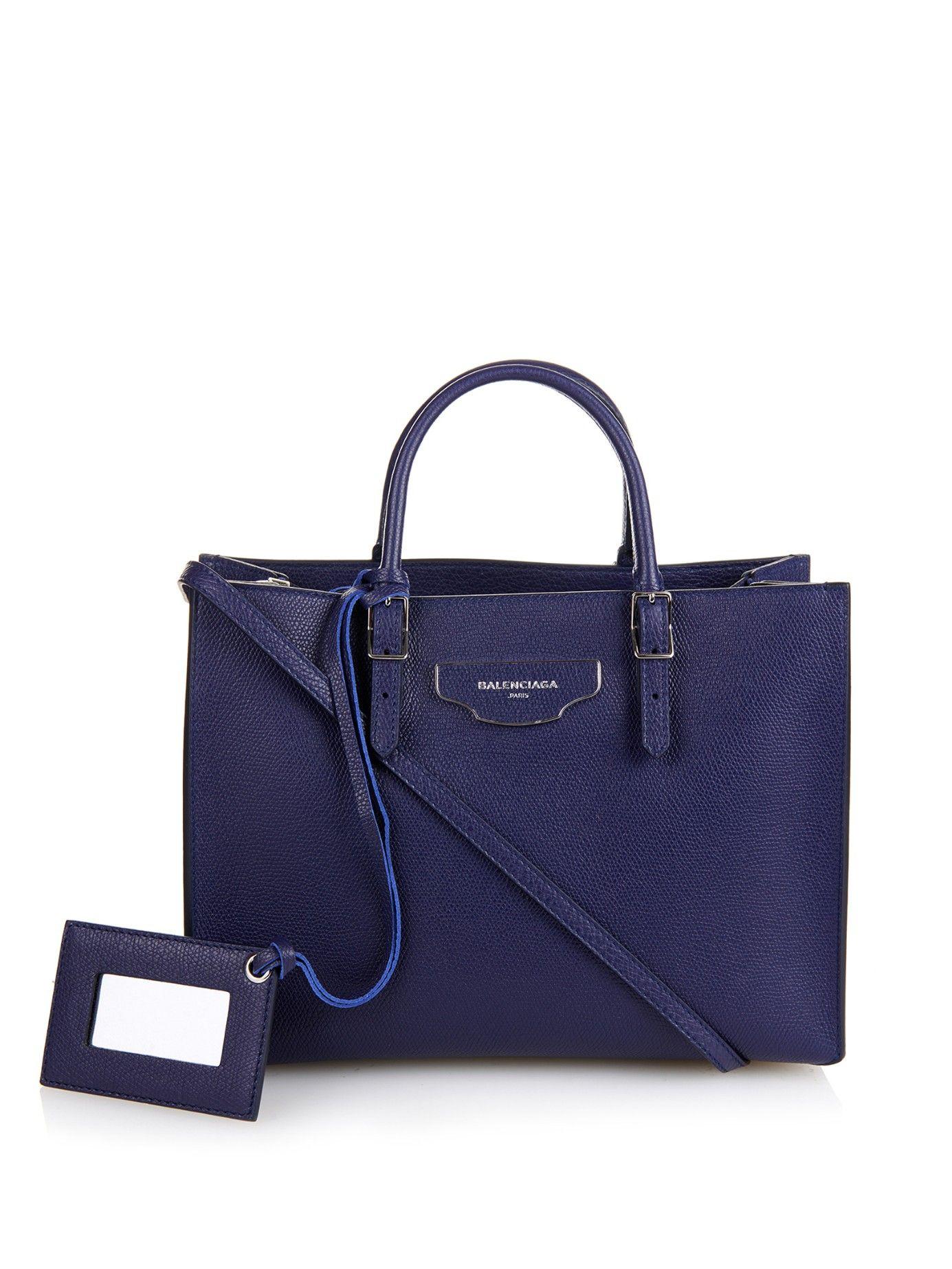 Papier A6 Plate Leather Cross Body Bag Balenciaga Matchesfashion Com Uk