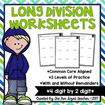 Long Division Worksheets 4 Digit By 2 Digit Division Distance