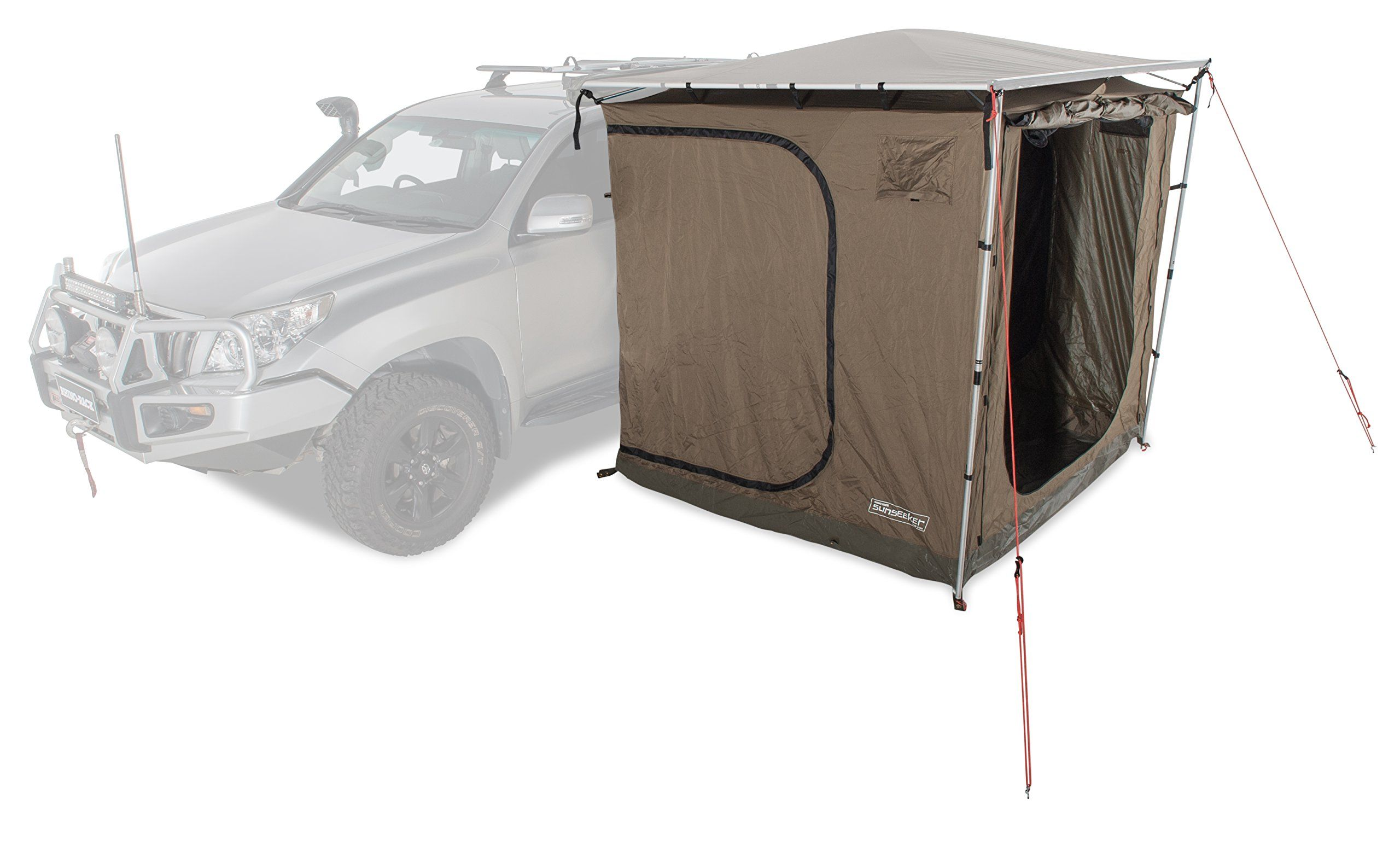 Rhino Rack Sunseeker Base Tent 2 5m Dome Roof For Extra Internal Height And Effective Water Run Off During Showers And Storms Waterproof Flooring Tent Rack