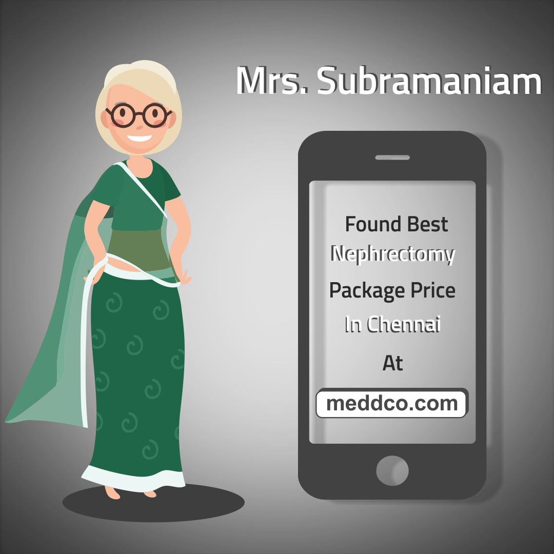 Mr. Subramaniam found the right hospital with most