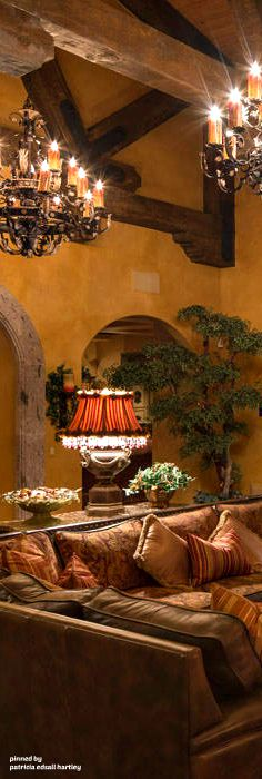 Mediterranean/Tuscan/Old World Decor