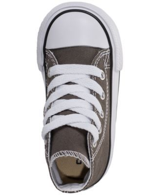 329206c0cbb562 Converse Boys  Chuck Taylor Hi Casual Sneakers from Finish Line - Gray 4