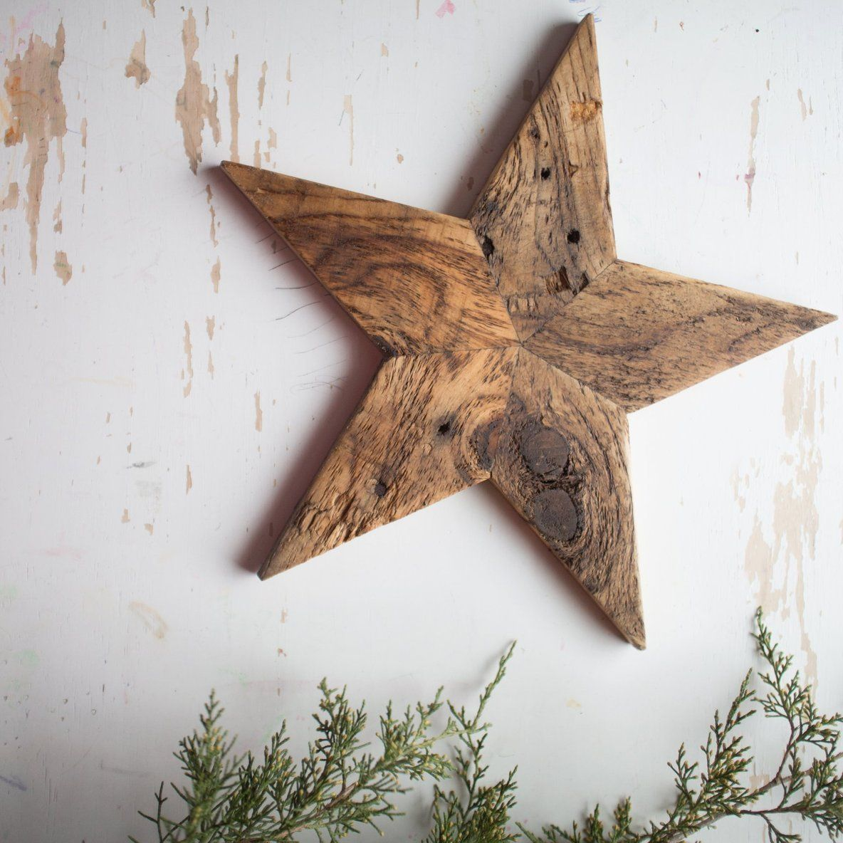 Made from reclaimed pallet wood. This rustic, Barn wood ...