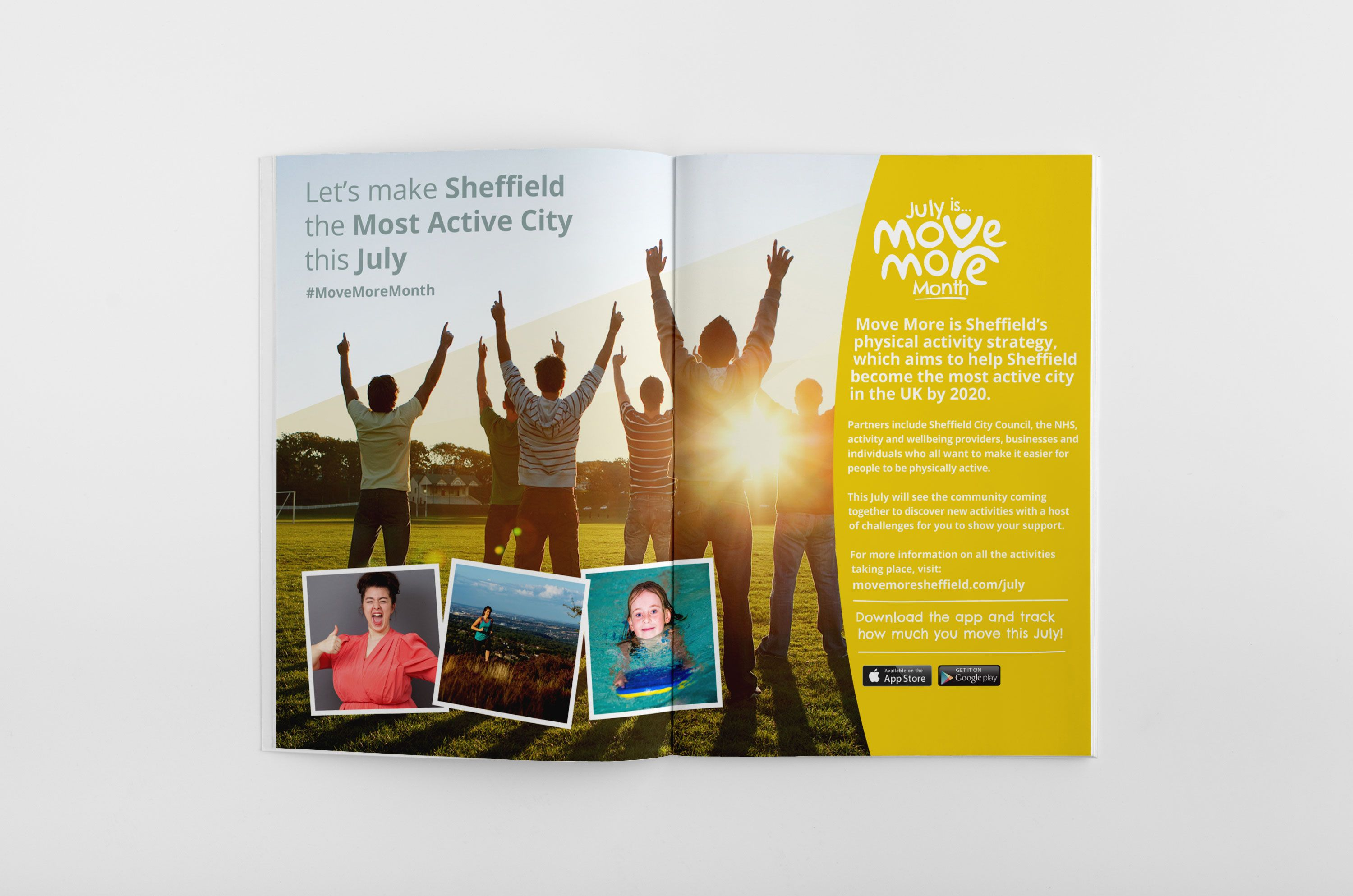 Sheffield Fitness Campaign Brochure By WwwThenuagencyCom  Nu