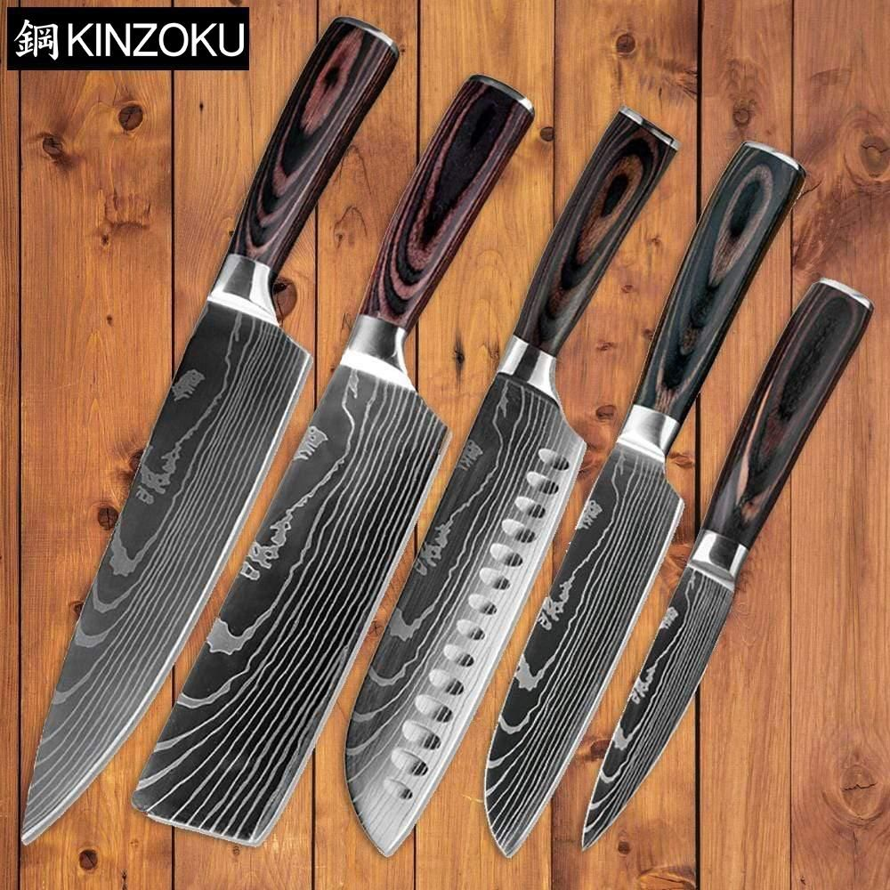 At Last A Ruthlessly Sharp Amp Durable Knife Set The Stainless Steel Knife Collection By Kiiinzoku Comb In 2020 Kitchen Knives Stainless Steel Kitchen Tools Knife