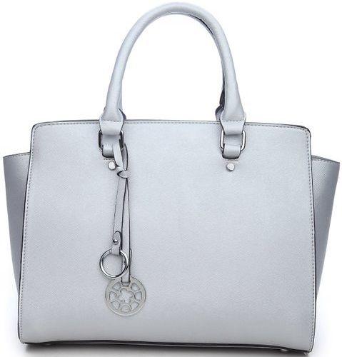 Cuffu Online My Lux Fashion Designer Handbag Silver