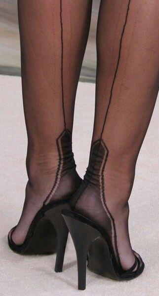 Pin By Adb On Mules Heels Pantyhose Heels Fun Heels
