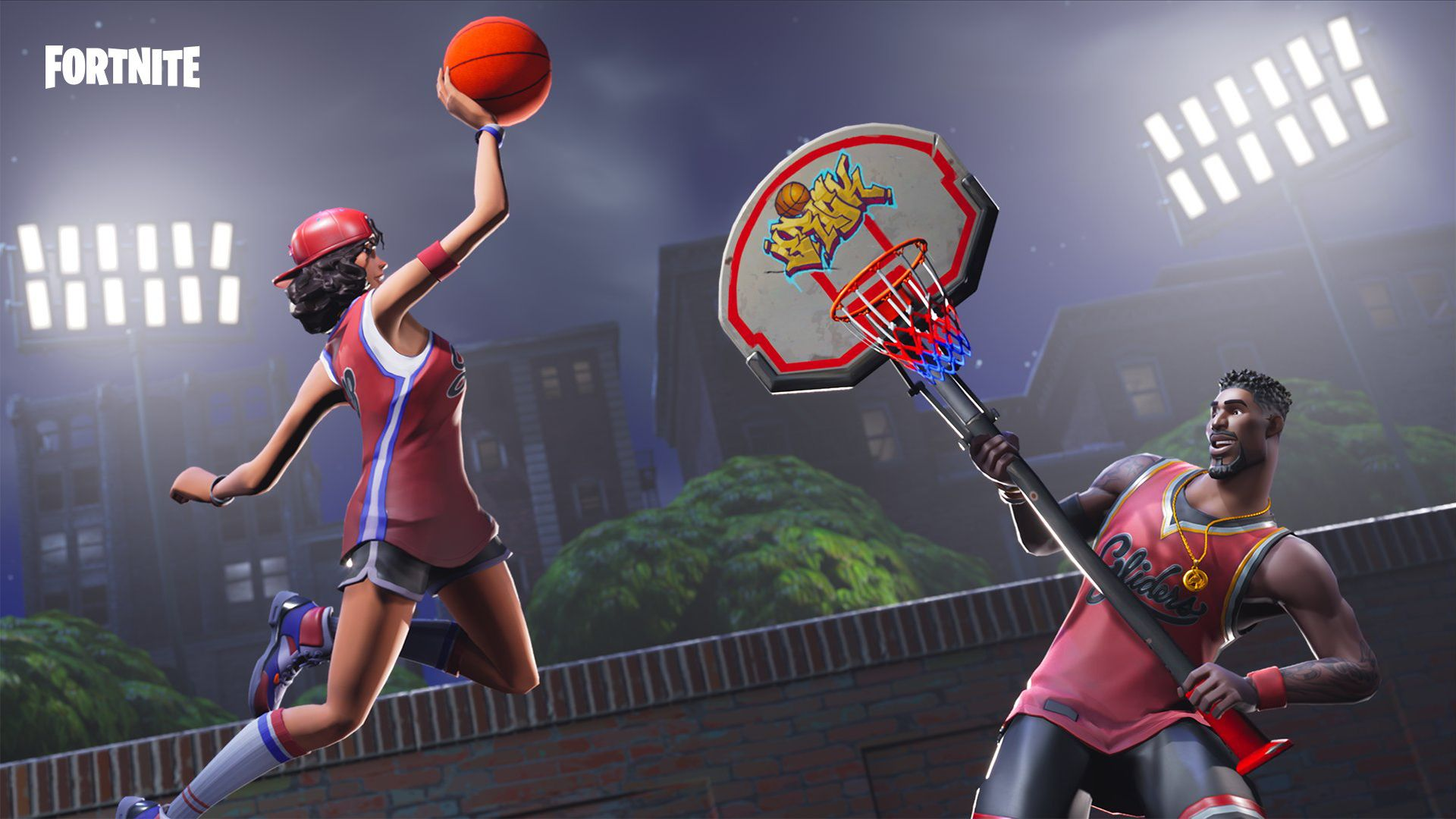 Triple Threat Jumpshot Are Rare Fortnite Skin Depicting Basketball Players That Were Released During The Nba Finals Of 2018 It S Pretty Unique For A Rare Ski