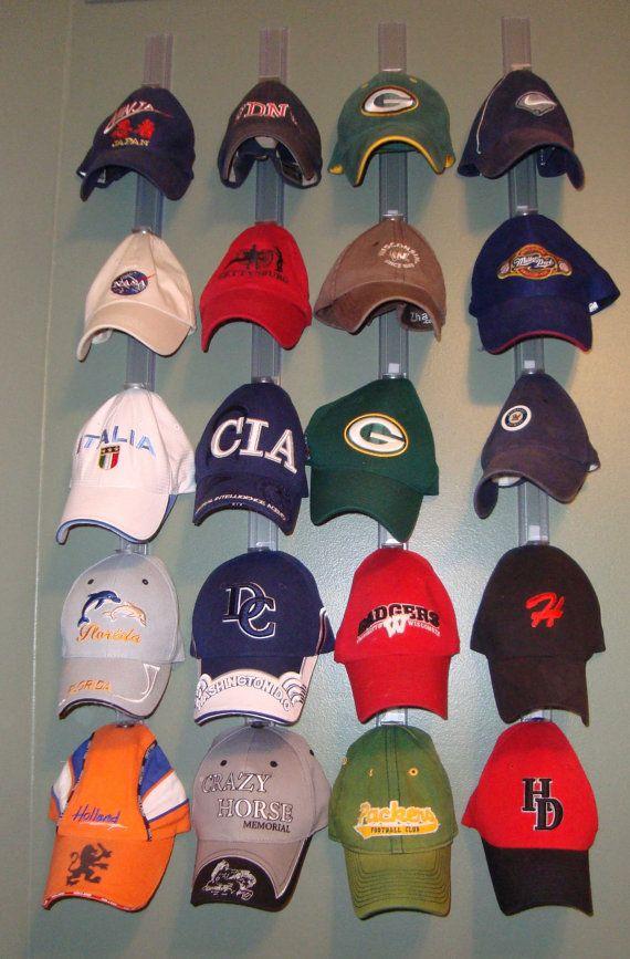 Hat Display System Hat Display Diy Hat Rack Hat Storage