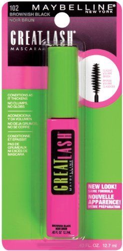 Maybelline Great Lash Washable Mascara Brownish Black 102 043 oz Pack of 6 -- This is an Amazon Affiliate link. Check this awesome product by going to the link at the image.