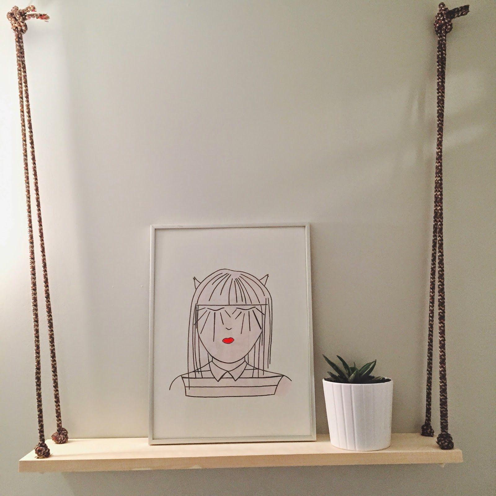 Hanging Shelf (DIY)