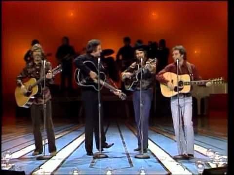 Johnny Cash, Waylon Jennings, Kris Kristofferson, Larry Gatlin   Ring Of...