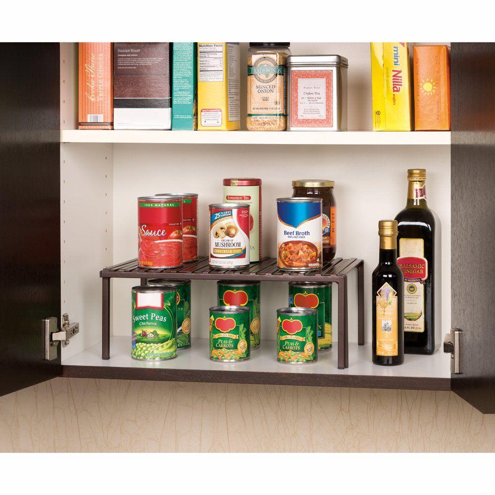 Expandable kitchen cabinet shelf organizer amp reviews wayfair
