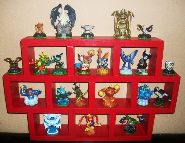 Definitely Gonna Get Stevie To Make One Of These For Aiden For All His  Skylanders!