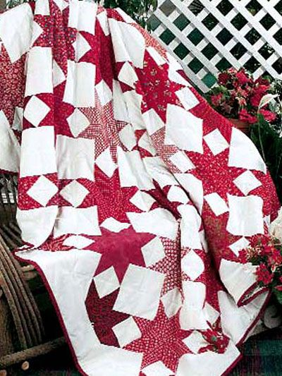 Free Christmas Presnets Quilt Pattern | Star quilts, Quilt and ... : red star quilt - Adamdwight.com
