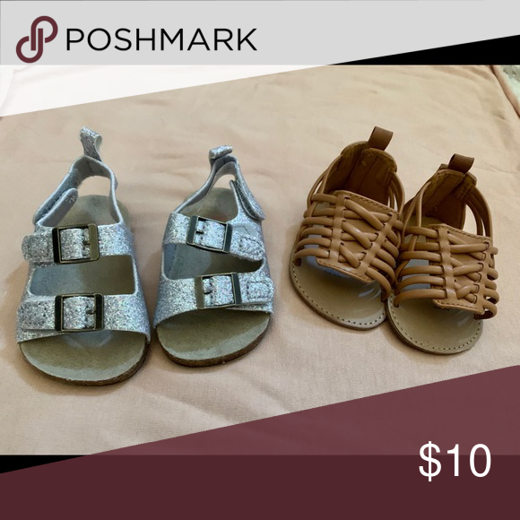 Nwot Infant Sandals 0 3 Months In 2020 Baby Sandals Sandals Brown Shoe