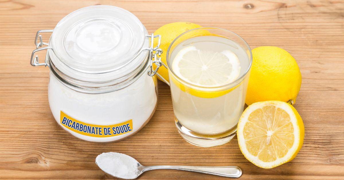 Voilà pourquoi vous devriez consommer le mélange citron et bicarbonate de soude tous les matins