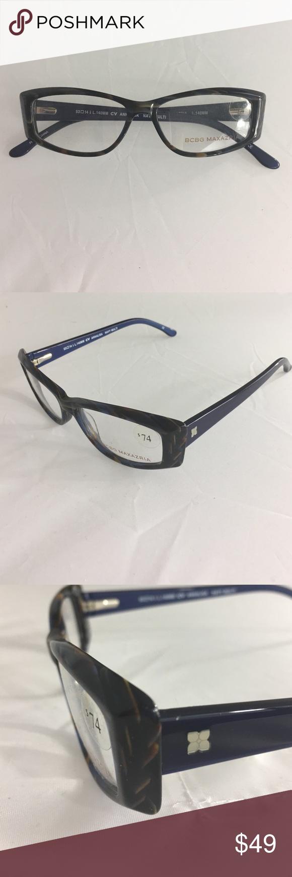Brand NEW BCBG MAXAZRIA Women\'s Eyeglass Frames Boutique | My Posh ...