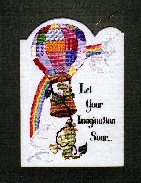 Fly A Plane Cross Stitch Kit  Make A Wish  DMC