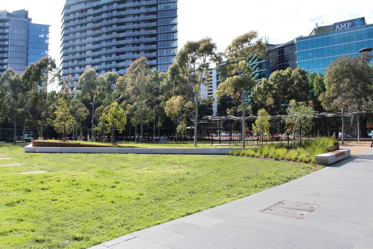 Docklands City Park Melbourne Stage 1 By Mala Studio Landscape Architecture Works Landezine Landscape Architecture