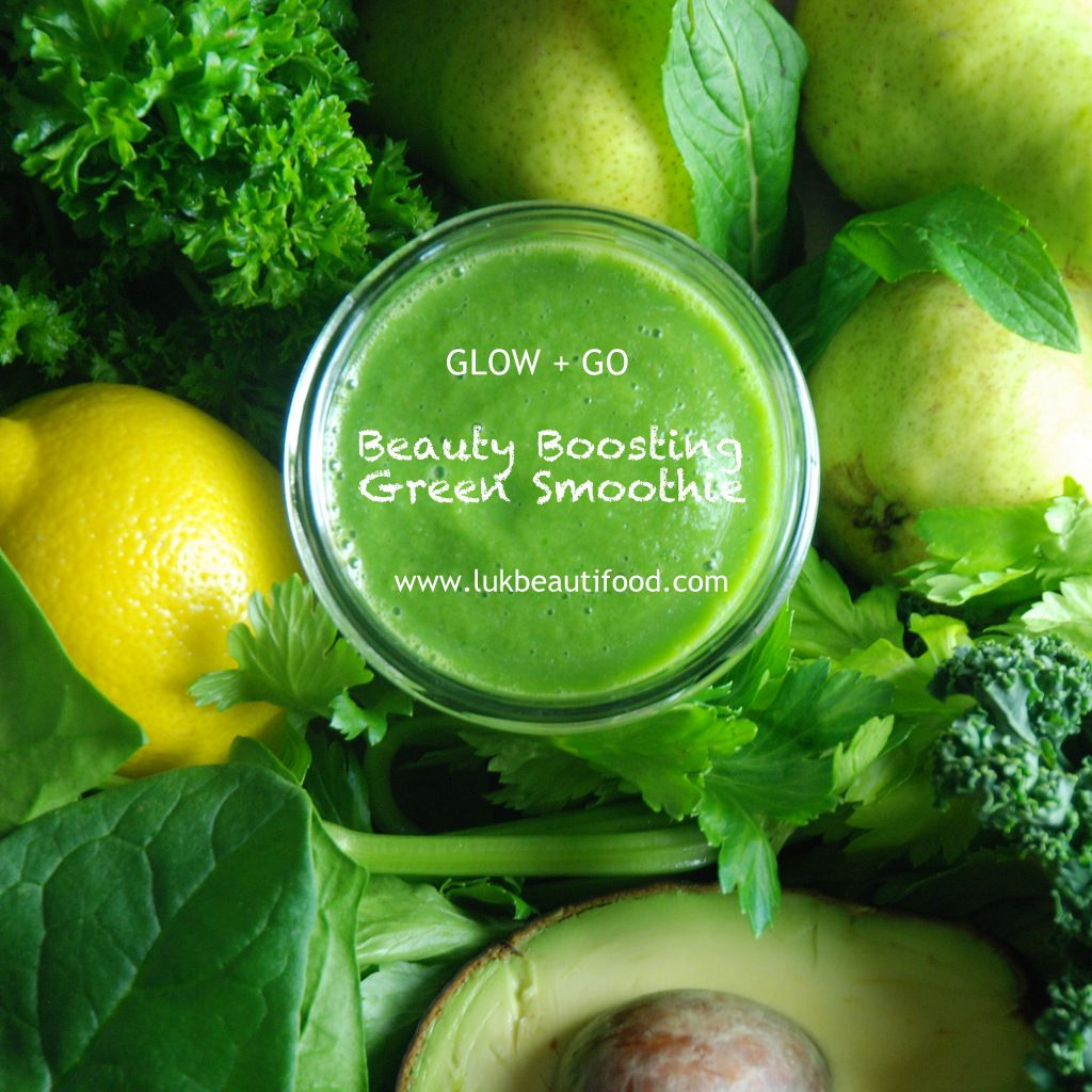 lük GLOW + GO | Beauty Boosting Green Smoothie