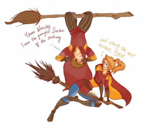 Harry And Ginny Clearly The Most Modest
