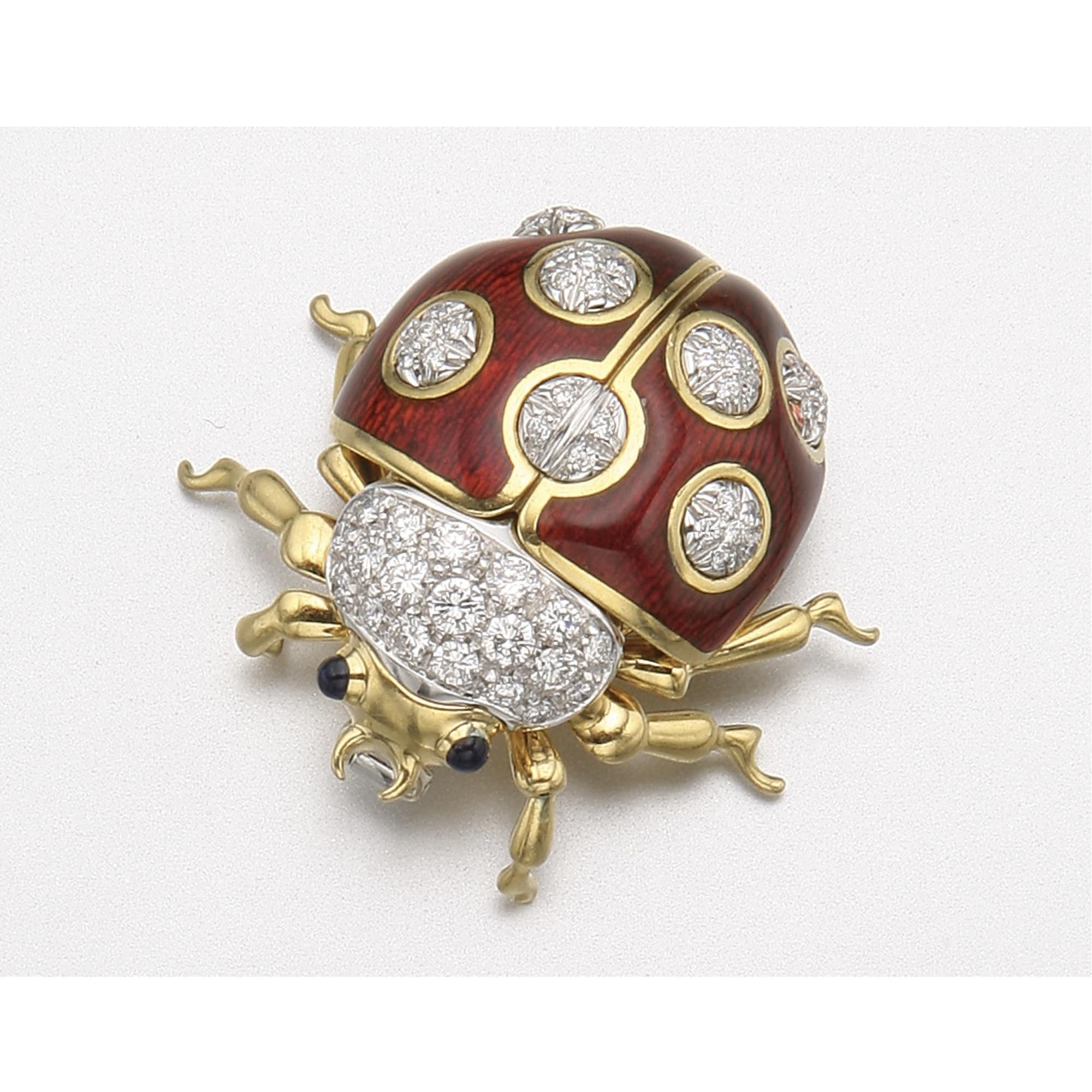qajar jewellery a and persia enamelled brooch large gold pin jewelled