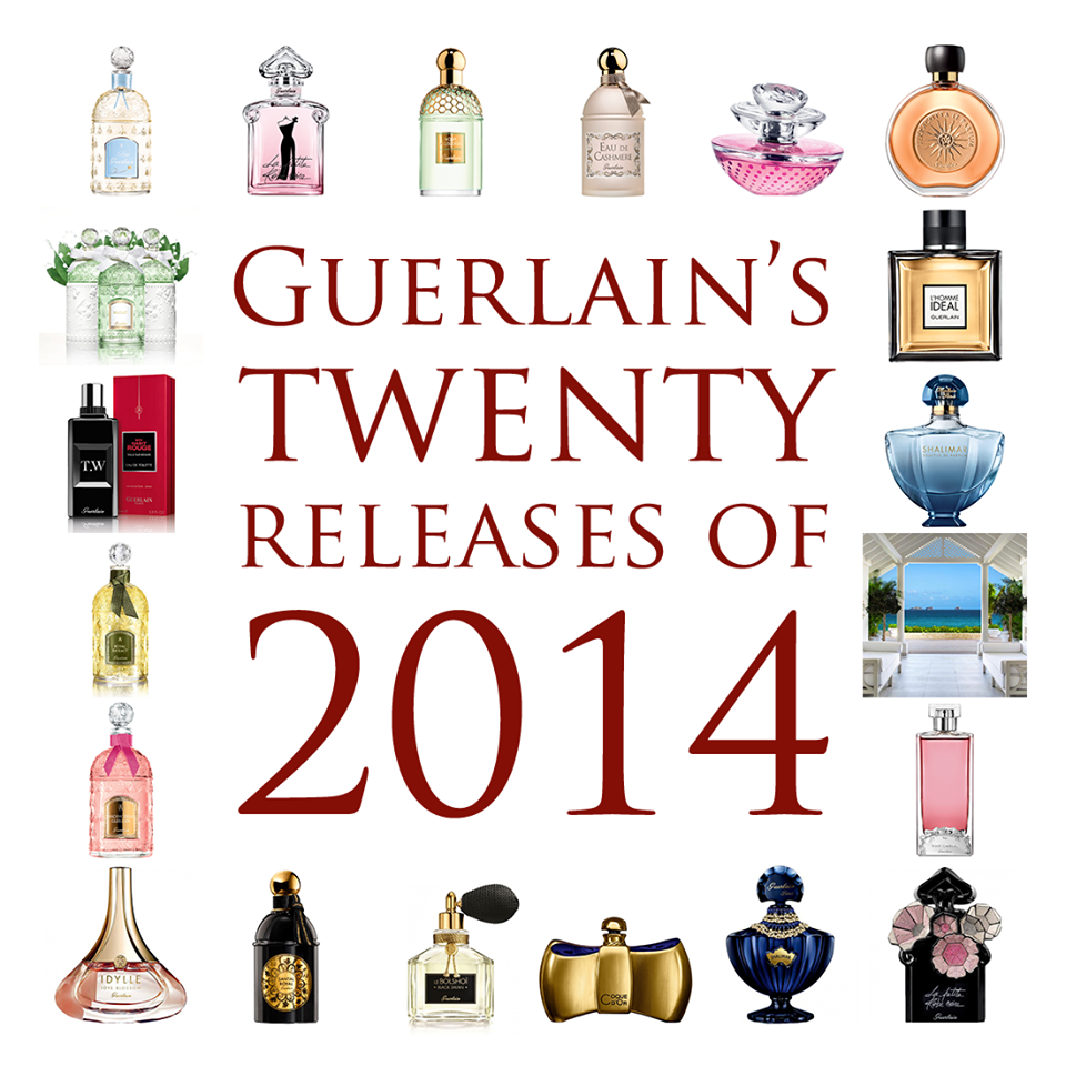 Gone are the days when Guerlain launched a new fragrance every five years. On today's market, there's no time to hold your breath until the next thing arrives, and the average speed of Guerlain is now twenty releases per year — that's more than one every three weeks!