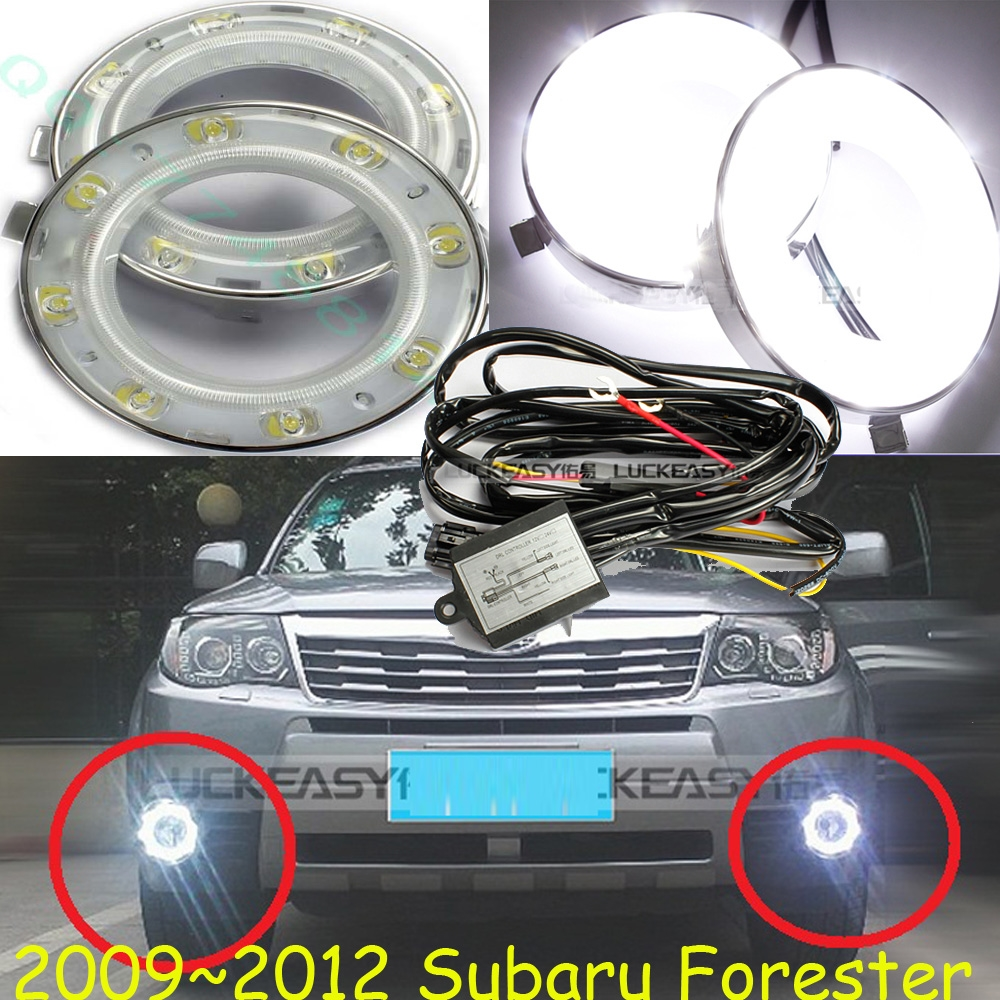 57.00$  Watch here - http://alizvg.shopchina.info/go.php?t=32742939339 - Car-styling,Forester daytime light,2009~2012,chrome,LED,Free ship!2pcs,car-detector,Forester fog light,car-covers 57.00$ #buyonlinewebsite