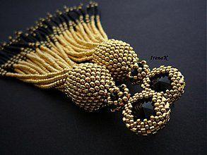 Náušnice - Medúza - 3987774_