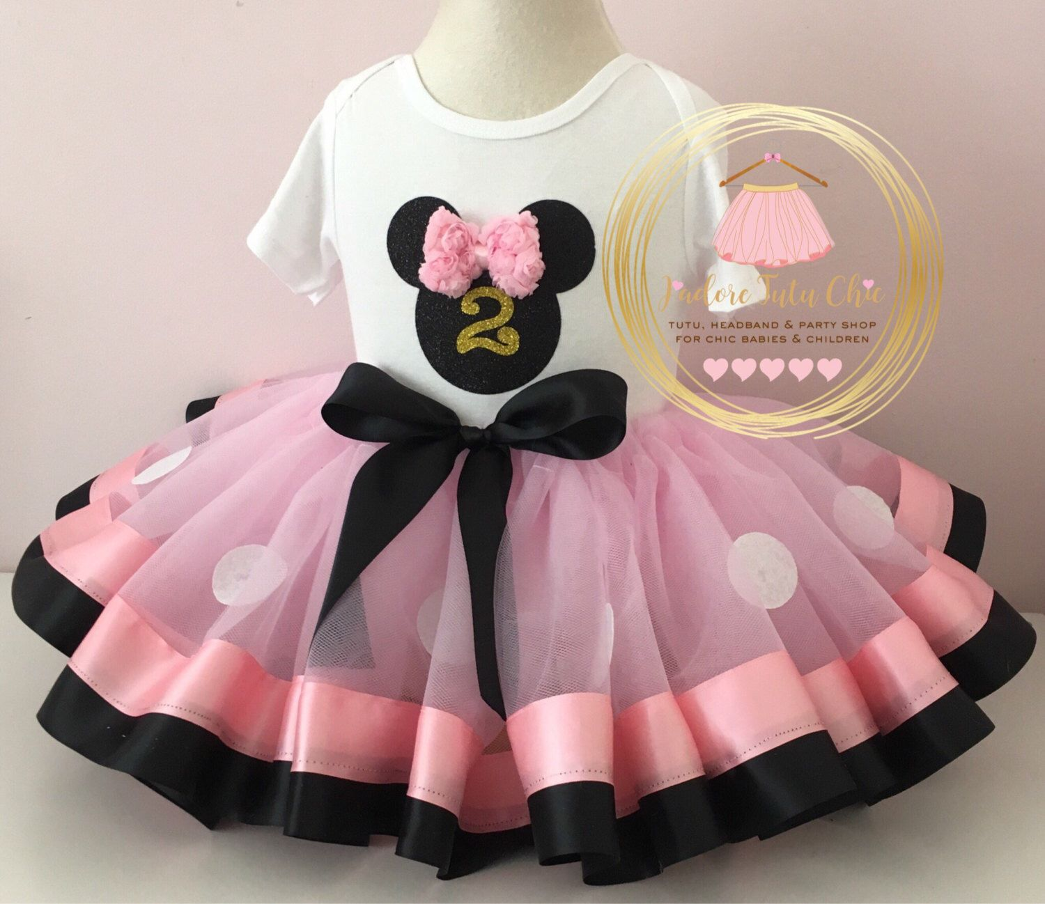 Minnie mouse birthday outfit - 1st birthday minnie mouse outfit ...