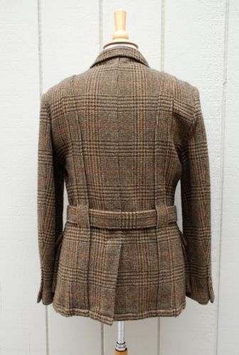634 Men S Wool Tweed Norfolk Jacket Polo Ralph Lauren 40r Oneofakind Sample Norfolk Jacket Mens Fashion Casual Outfits Vintage Mens Fashion