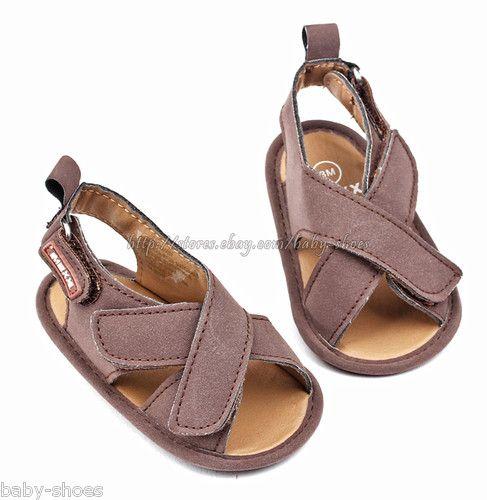 Infant Baby Boys Sandals Soft Sole Crib